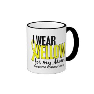 Llevo el amarillo para mi sarcoma de la mamá 10 taza a dos colores