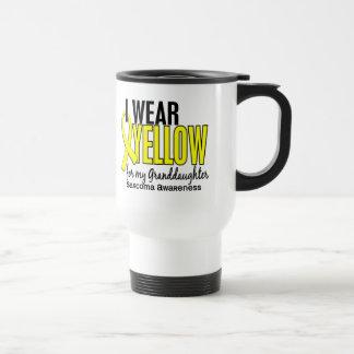 Llevo el amarillo para mi sarcoma de la nieta 10 taza