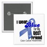 Llevo el azul para mi cáncer de colon del mejor am pins