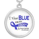 Llevo el azul para mi cáncer de colon del papá 42 grimpolas personalizadas