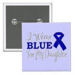 Llevo el azul para mi hija (Blue Ribbon) Pins