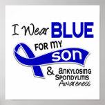 Llevo el azul para mi hijo 42 Spondylitis Ankylosi Impresiones