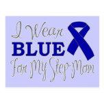 Llevo el azul para mi madrastra (Blue Ribbon) Postal
