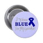 Llevo el azul para mi nieto (Blue Ribbon) Pin