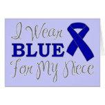 Llevo el azul para mi sobrina (la cinta azul de la felicitacion