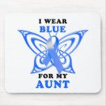 Llevo el azul para mi tía alfombrilla de ratones