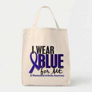 Llevo el azul yo RA de la artritis reumatoide Bolsas