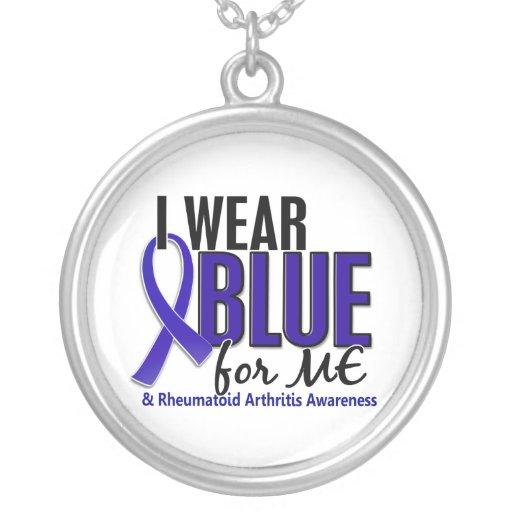 Llevo el azul yo RA de la artritis reumatoide Pendiente