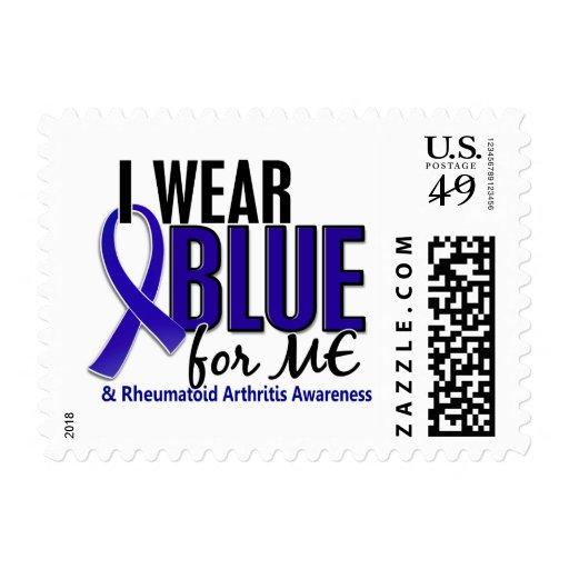 Llevo el azul yo RA de la artritis reumatoide Sellos