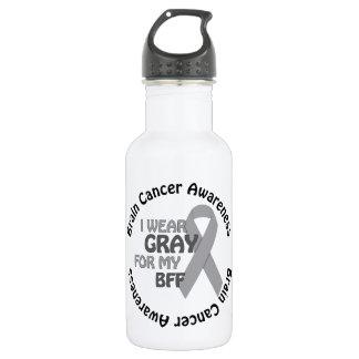Llevo el gris para mi cáncer de cerebro de la