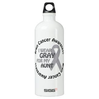 Llevo el gris para mi cáncer de cerebro de tía