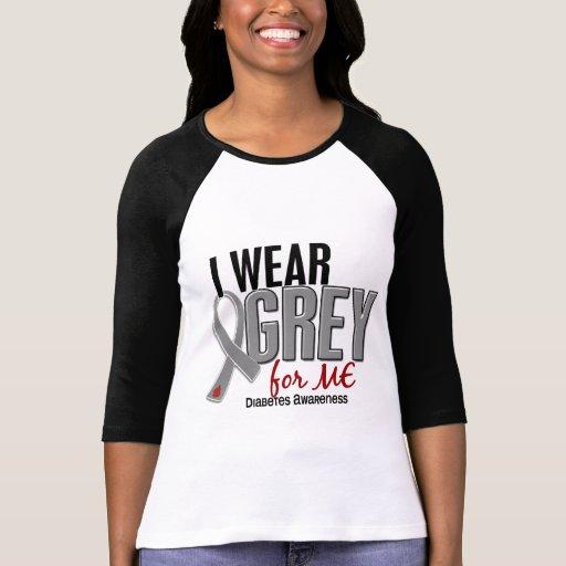 Llevo el gris para MÍ la diabetes 10 Camiseta