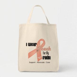 Llevo el melocotón para mi abuela - cáncer uterino bolsas