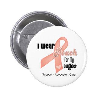 Llevo el melocotón para mi hija - cáncer uterino pins