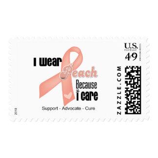 Llevo el melocotón porque cuido - cáncer uterino franqueo