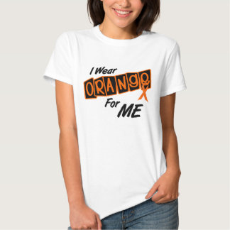 Llevo el naranja para MÍ 8 Polera