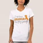 Llevo el naranja para mi abuelo (la cinta camiseta