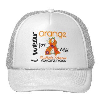 Llevo el naranja para mí esclerosis múltiple de 43 gorras
