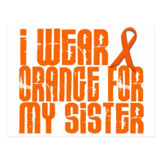 Llevo el naranja para mi hermana 16 tarjetas postales