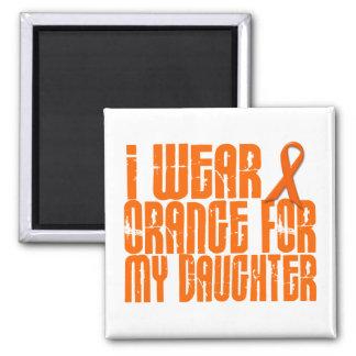 Llevo el naranja para mi hija 16 imán cuadrado