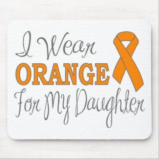 Llevo el naranja para mi hija la cinta anaranjada alfombrilla de ratones