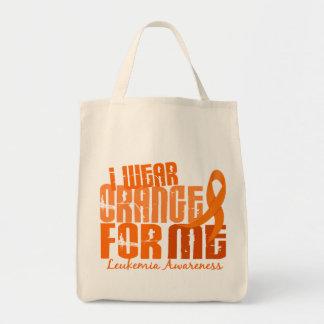 Llevo el naranja para mí la leucemia 6,4 bolsas de mano