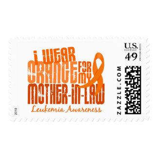 Llevo el naranja para mi leucemia de la suegra 6,4 sellos
