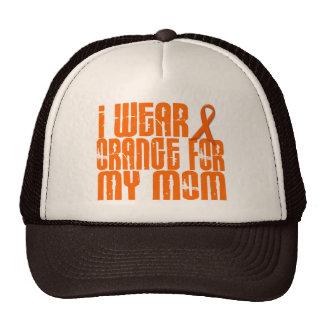 Llevo el naranja para mi mamá 16 gorro