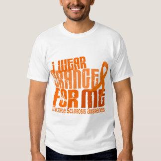 Llevo el naranja para mí ms de la esclerosis camisas