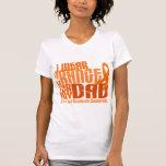Llevo el naranja para mi ms de la esclerosis camiseta