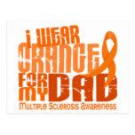 Llevo el naranja para mi ms de la esclerosis postal