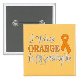 Llevo el naranja para mi nieta la cinta anaranjad pin