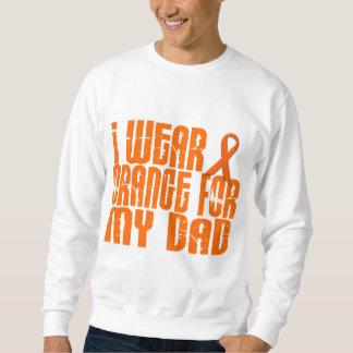 Llevo el naranja para mi papá 16 pulóver sudadera