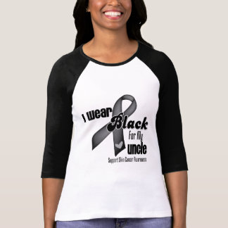 Llevo el negro para mi cáncer del tío piel playera