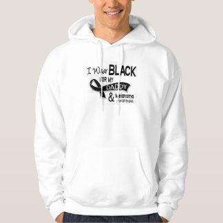 Llevo el negro para mi melanoma del papá 42 jersey con capucha