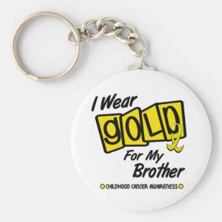 Llevo el oro para mi BROTHER 8 Llaveros Personalizados