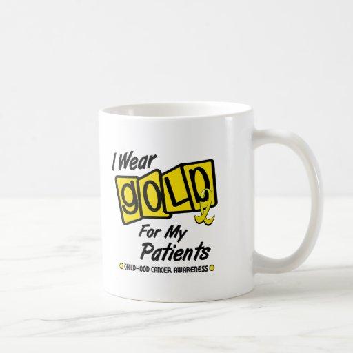 Llevo el oro para mis PACIENTES 8 Taza De Café