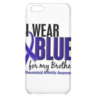Llevo el RA azul de la artritis reumatoide de Brot