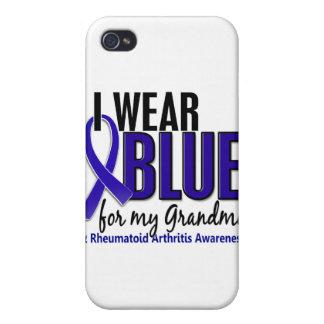 Llevo el RA azul de la artritis reumatoide de la a iPhone 4 Cobertura
