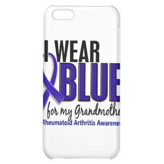 Llevo el RA azul de la artritis reumatoide de la a