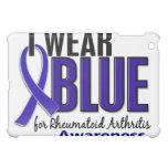 Llevo el RA azul de la artritis reumatoide de la c
