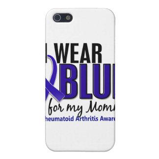 Llevo el RA azul de la artritis reumatoide de la m iPhone 5 Carcasa