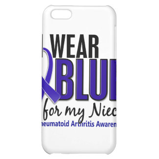 Llevo el RA azul de la artritis reumatoide de la s