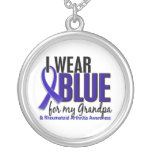 Llevo el RA azul de la artritis reumatoide del abu Colgante