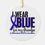 Llevo el RA azul de la artritis reumatoide del abu Ornatos