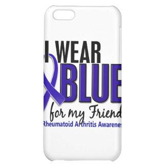 Llevo el RA azul de la artritis reumatoide del ami