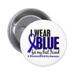 Llevo el RA azul de la artritis reumatoide del mej Pin