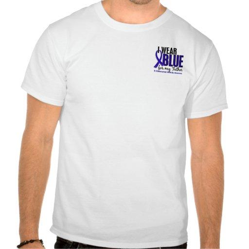 Llevo el RA azul de la artritis reumatoide del pad Camiseta