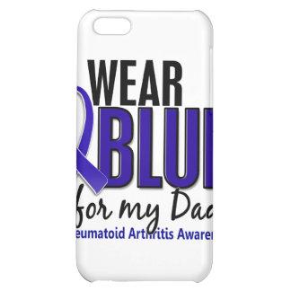 Llevo el RA azul de la artritis reumatoide del pap