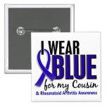 Llevo el RA azul de la artritis reumatoide del pri Pins